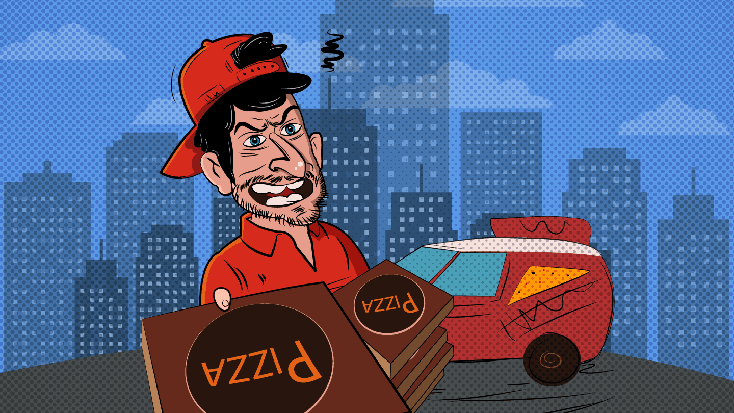 Pizza Delivery - PrankDial